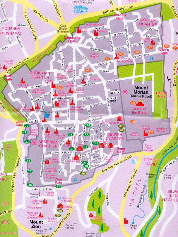 christian quarter old city jerusalem map, wire diagram, where is jerusalem located on the world map
